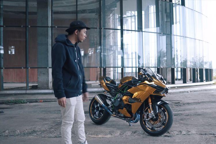 Kawasaki Ninja H2 Doni Salmanan