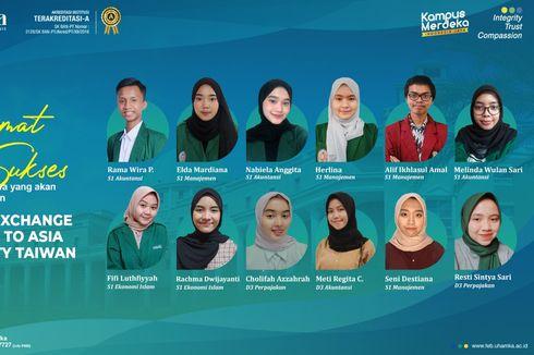 FEB Uhamka Kirim 12 Mahasiswa Ikuti