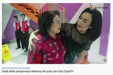 Detik-detik Perdamaian Melaney Ricardo dan Elza Syarief