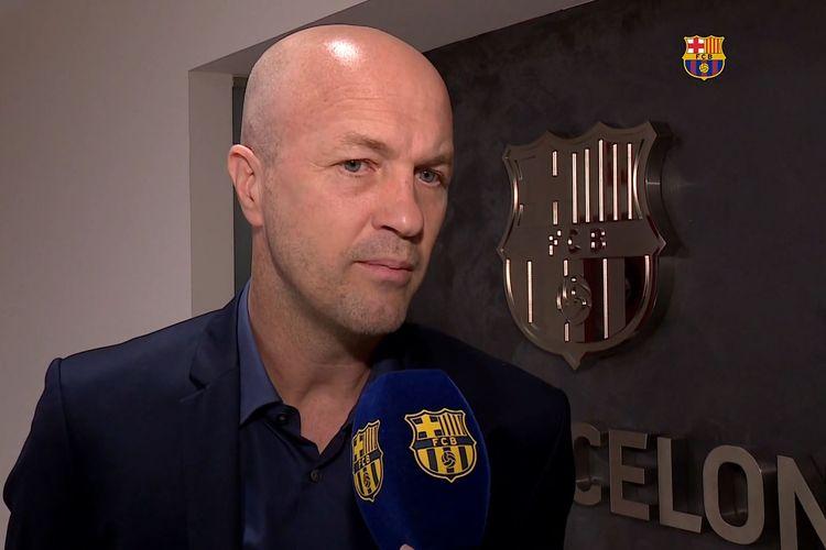 Barcelona meresmikan kedatangan Jordi Cruyff ke tim manajemen klub pada Kamis (3/6/2021) malam WIB.