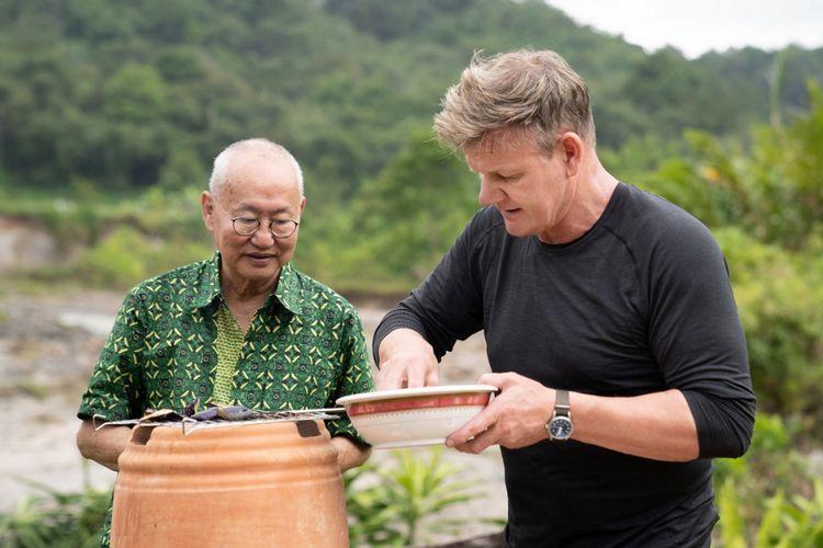Pakar kuliner William Wongso menjadi mentor masak rendang koki kenamaan dunia Gordon Ramsay.