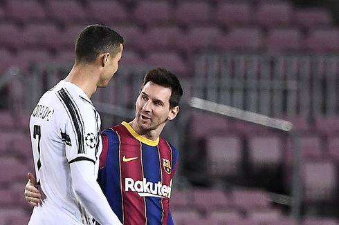 Soal Koleksi Kartu Merah, Lebih Banyak Messi atau Ronaldo?