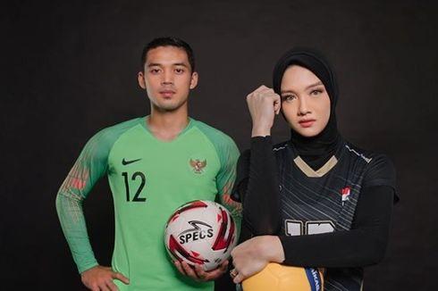 Kisah Kasih Kiper Timnas U23 dan Bintang Proliga, dari Persahabatan hingga ke Pelaminan