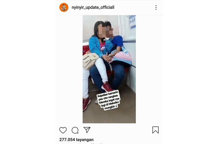 Tangkapan layar instagram @nyinyir_update_officiall