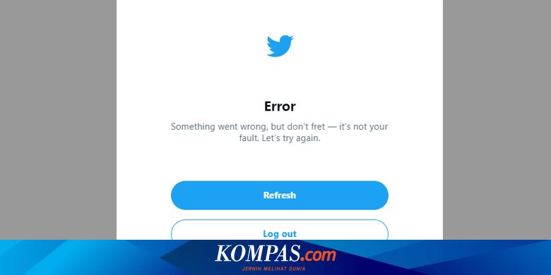Website Twitter Error, Pengguna Tak Bisa Login di