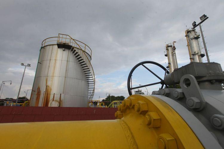 Ilustrasi: pipa gas milik Pertamina EP (PEP) Asset 3 Subang