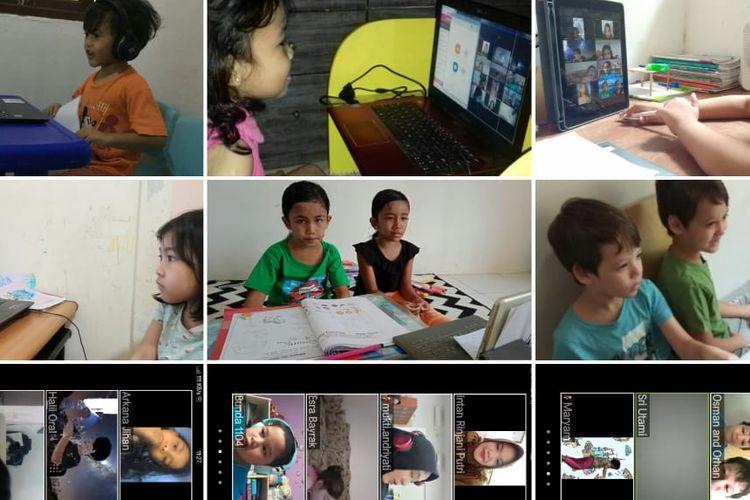 Sekolah Kharisma Bangsa di Pondok Cabe, Tangerang Selatan, terhitung 19 Maret 2020, telah melakukan kebijakan pembelajaran dari rumah sebagai bentuk tanggap darurat mencegah penyebaran virus corona.