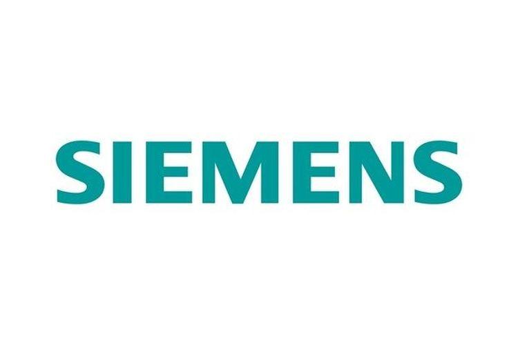 Ilustrasi logo Siemens