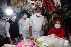 Kunjungi Pasar Wonokromo Surabaya, Mendag Lutfi Sebut Harga Bahan Pokok Masih Stabil