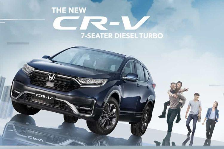 Ilustrasi Honda CR-V terbaru