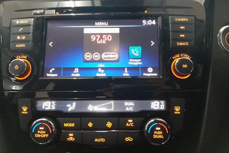 Layar Multimedia Nissan X-Trail Facelift 2019