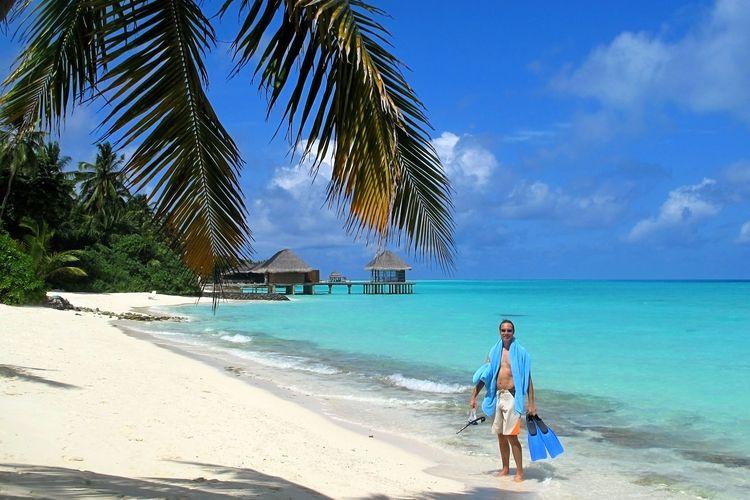 Ilustrasi Maladewa (dok. Pixabay/dany1624).