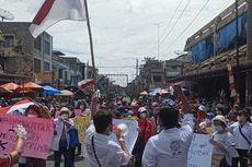 Jualan Tak Laku, Pedagang di Pasar Horas Minta Penyekatan Akses Jalan Dibuka