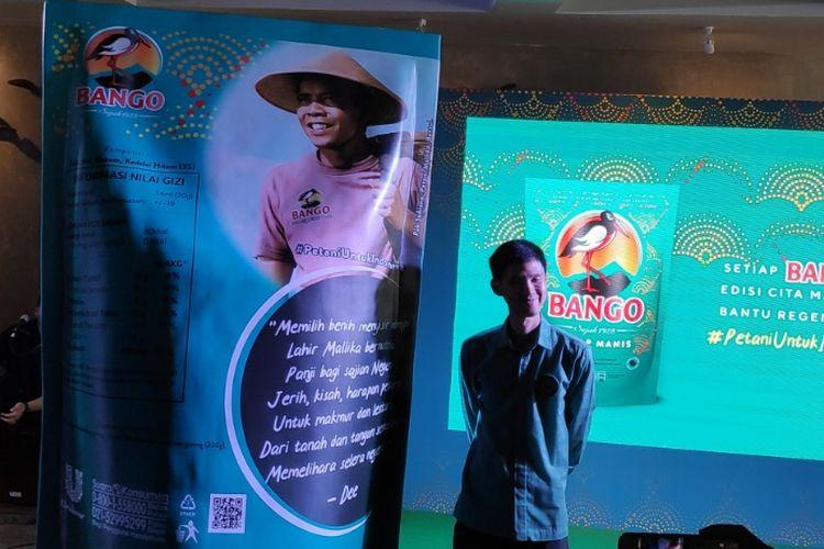 Senior Brand Manager Bango Nando Kusmanto meluncurkan Cita Mallika.