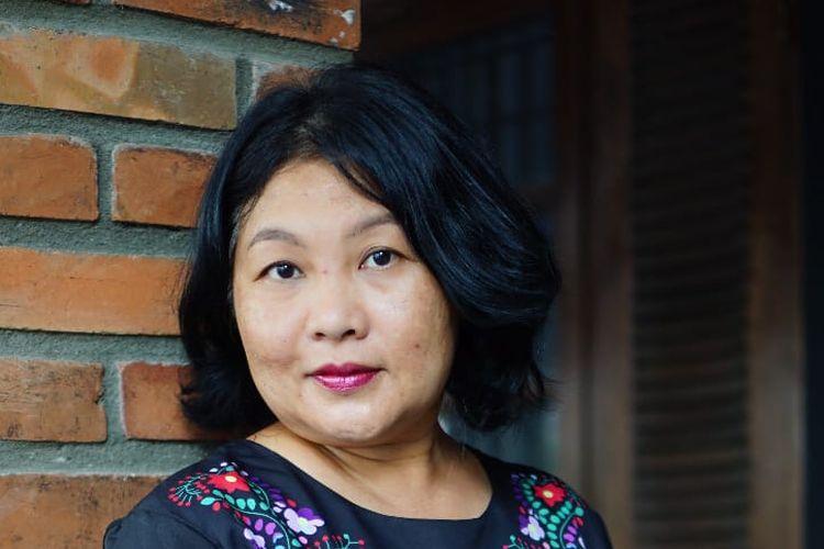 Christiana Tunjung owner tas kulit Abekani.