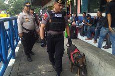 Sterilisasi Terminal Kampung Rambutan Jelang Natal, Polisi Kerahkan Anjing Pelacak