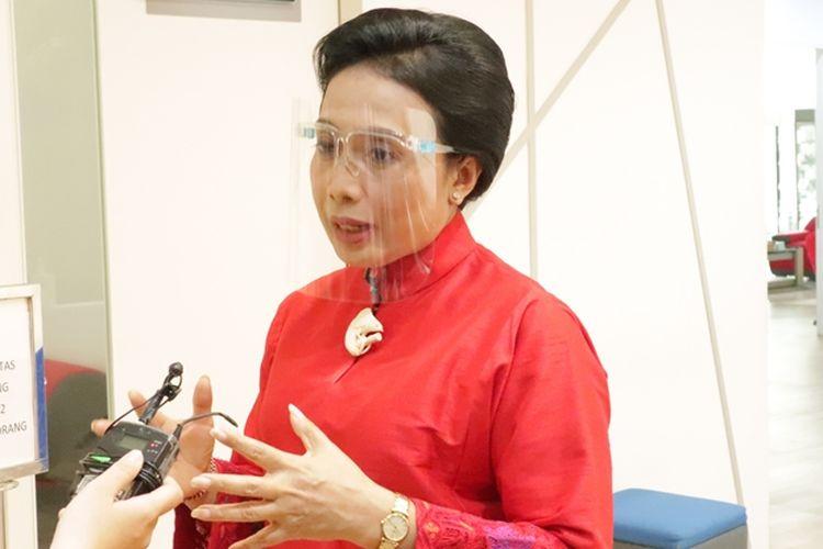 Menteri Pemberdayaan Perempuan dan Perlindungan Anak (PPPA) I Gusti Ayu Bintang Darmawati pada acara Senyum Ibu Pertiwi di Kompas TV, Selasa (22/12/2020).