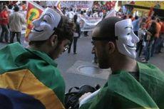 Topeng Dilarang Saat Misa Paus di Brasil