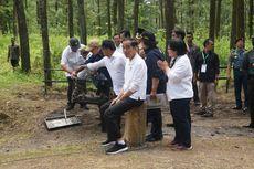 Jokowi Lepas Sepasang Elang Jawa, Abu dan Rossy, di Lereng Merapi