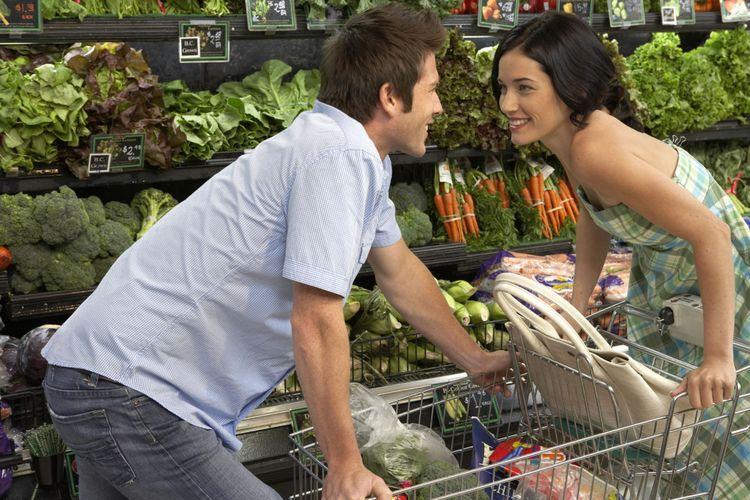 Ilustrasi belanja sayuran