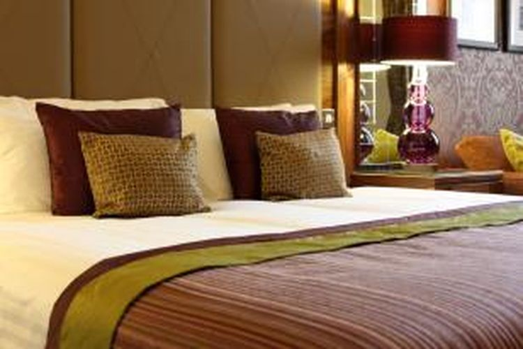 Ilustrasi tempat tidur