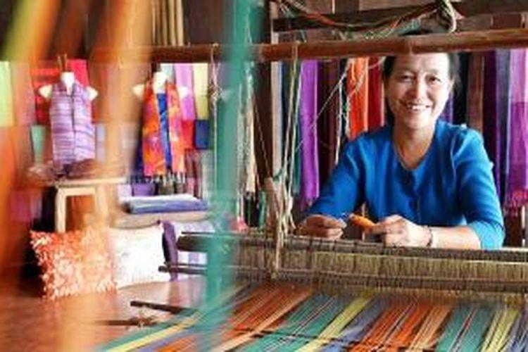 Sampran Riverside Market di Thailand.