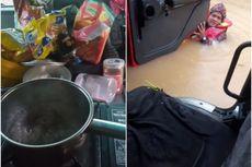 Video Viral Korban Banjir Tawarkan Tim Penyelamat Makan Mie, Saat Air Sudah Setinggi Dada Orang Dewasa