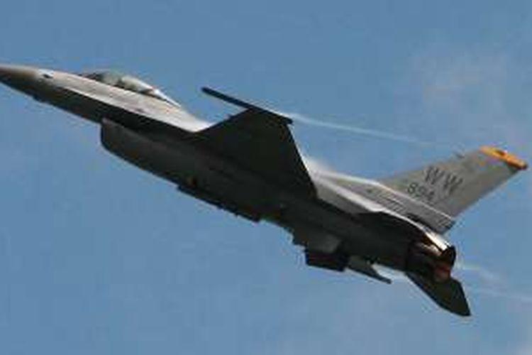 Lockheed Martin F-16C Fighting Falcon USAF.