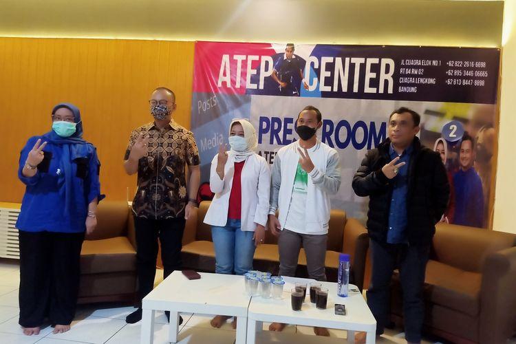 Calon Bupati dan Wakil Bupati Bandung Yena-Atep.