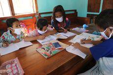 Mengintip Cara Anak SD di Desa 'Miskin Jaringan Internet' Saat Pembelajaran Daring