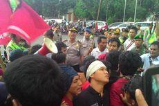 Demo Mahasiswa Depan Istana Negara Dibubarkan, Lalu Lintas Lancar Kembali