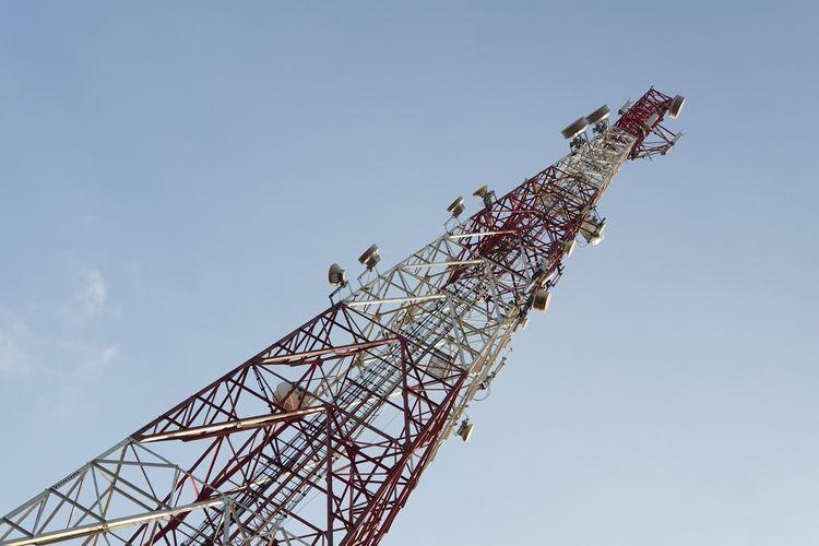 Ilustrasi BTS 4G Telkomsel di salah satu titik di Penajam Paser Utara, Kalimantan Timur