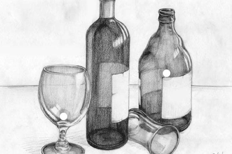 Ilustrasiteknik menggambar benda