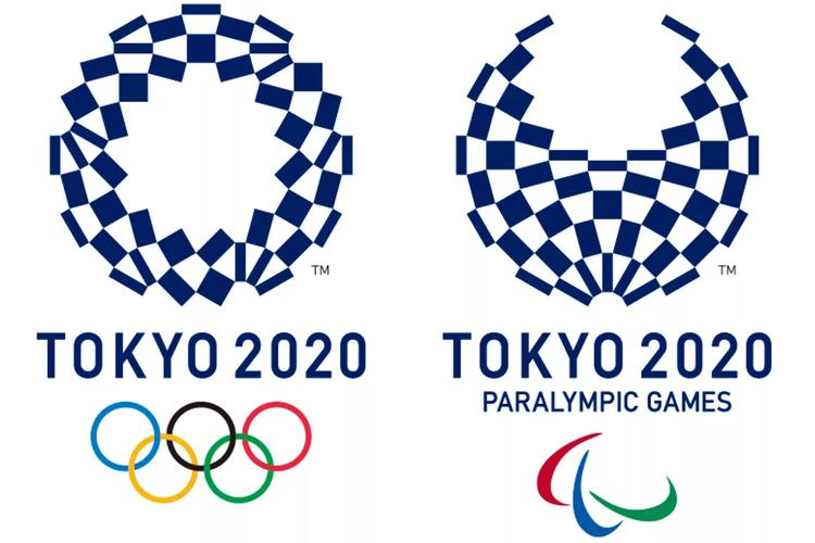 Logo Olimpiade Tokyo 2020 beserta Olimpiade Paralimpik Tokyo 2020