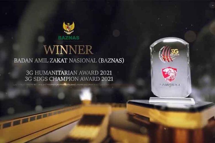 Baznas raih dua penghargaan internasional dari Cambridge International Financial Advisory.