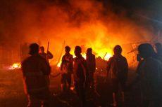 Pasar Penampungan Pedagang di Sukabumi Terbakar, Korban Jiwa Nihil