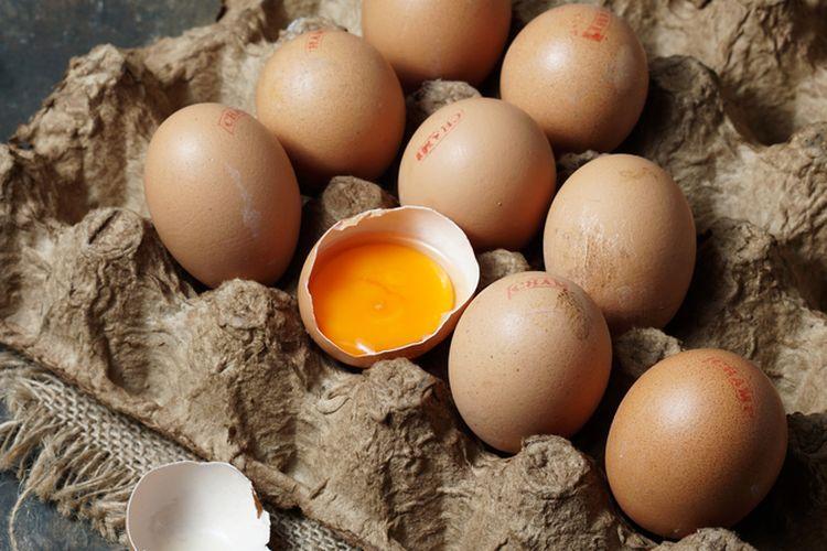 Ilustrasi telur omega.