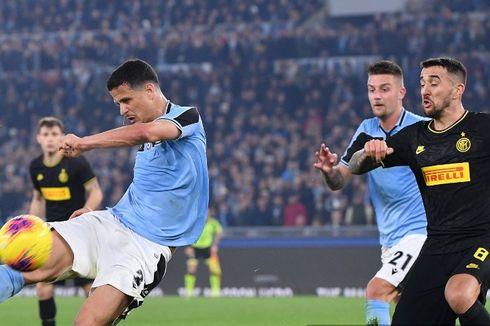 Hasil Liga Italia, 2 Fakta Menarik dari Laga Lazio Vs Inter