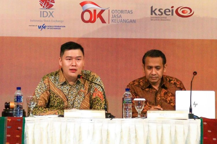 Presiden Direktur PT Mark Dynamics Indonesia Tbk Ridwan Goh.