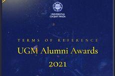 UGM Alumni Awards 2021 Digelar, Simak Infonya