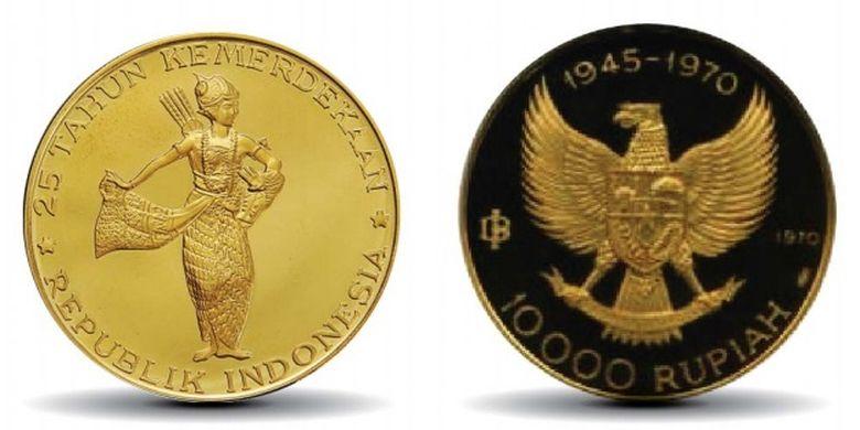Uang Rupiah Khusus Peringatan Kemerdekaan Republik Indonesia