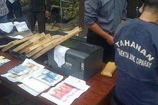 Polisi Bandung Bekuk Pembuat Uang Palsu