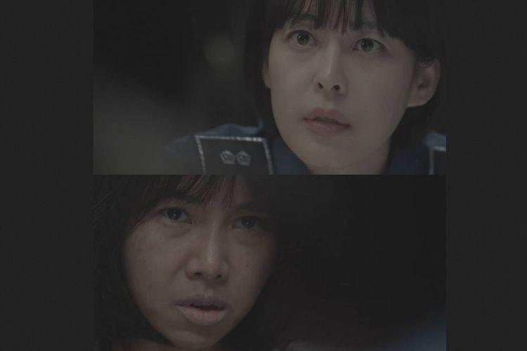 Potongan adegan dalam drama seri televisi, The Voice 3, yang menampilkan dialog berbahasa Indonesia.