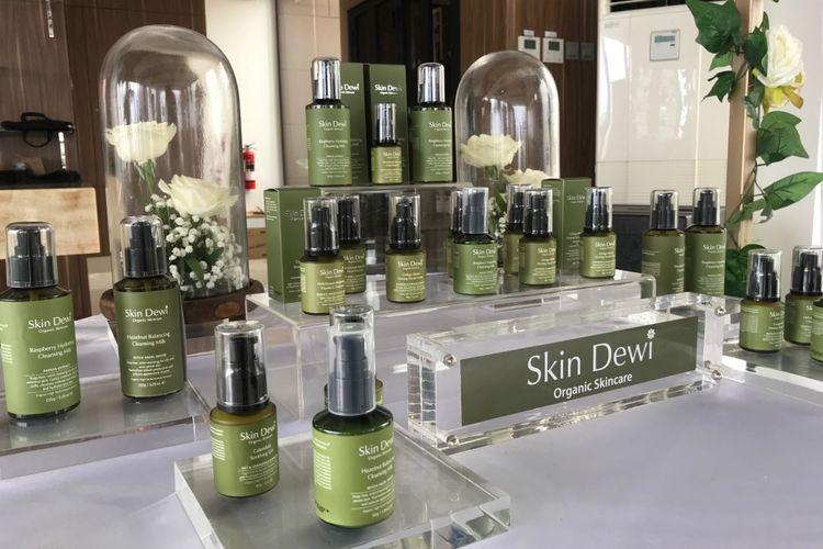 Rangkaian produk skin care organik Skin Dewi.