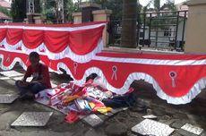 Curhat Penjual Pernak-pernik Agustusan di Parepare, Datang dari Garut tapi Sepi Pembeli