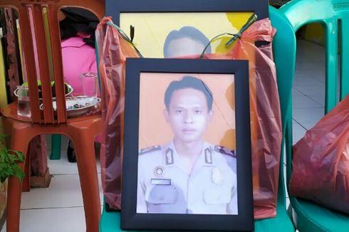 Isak Tangis Sambut Jenazah Polisi yang Gugur Saat Lakukan Olah TKP Pencurian