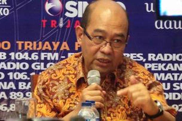 Wakil Ketua Komisi XI DPR RI Harry Azhar Aziz