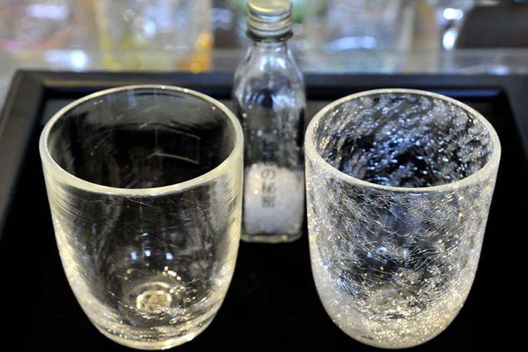 Glass Forest in Furano, tempat pembuatan gelas kaca di Hokkaido, Jepang. Toko ini menjual produk gelas kaca yang dipanjang dengan berbagai tema.