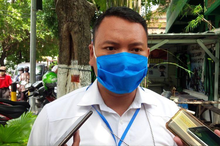 Kasat Reskrim Polresta Solo, AKP Purbo Adjar Waskito di Solo, Jawa Tengah, Rabu (15/4/2020).
