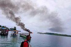 Kapal Cepat Rombongan KPUD Raja Ampat Terbakar, Alat Bimtek dan Uang Rp 400 Juta Hangus